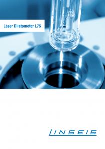 Dilatomer Produktbroschüre Laser