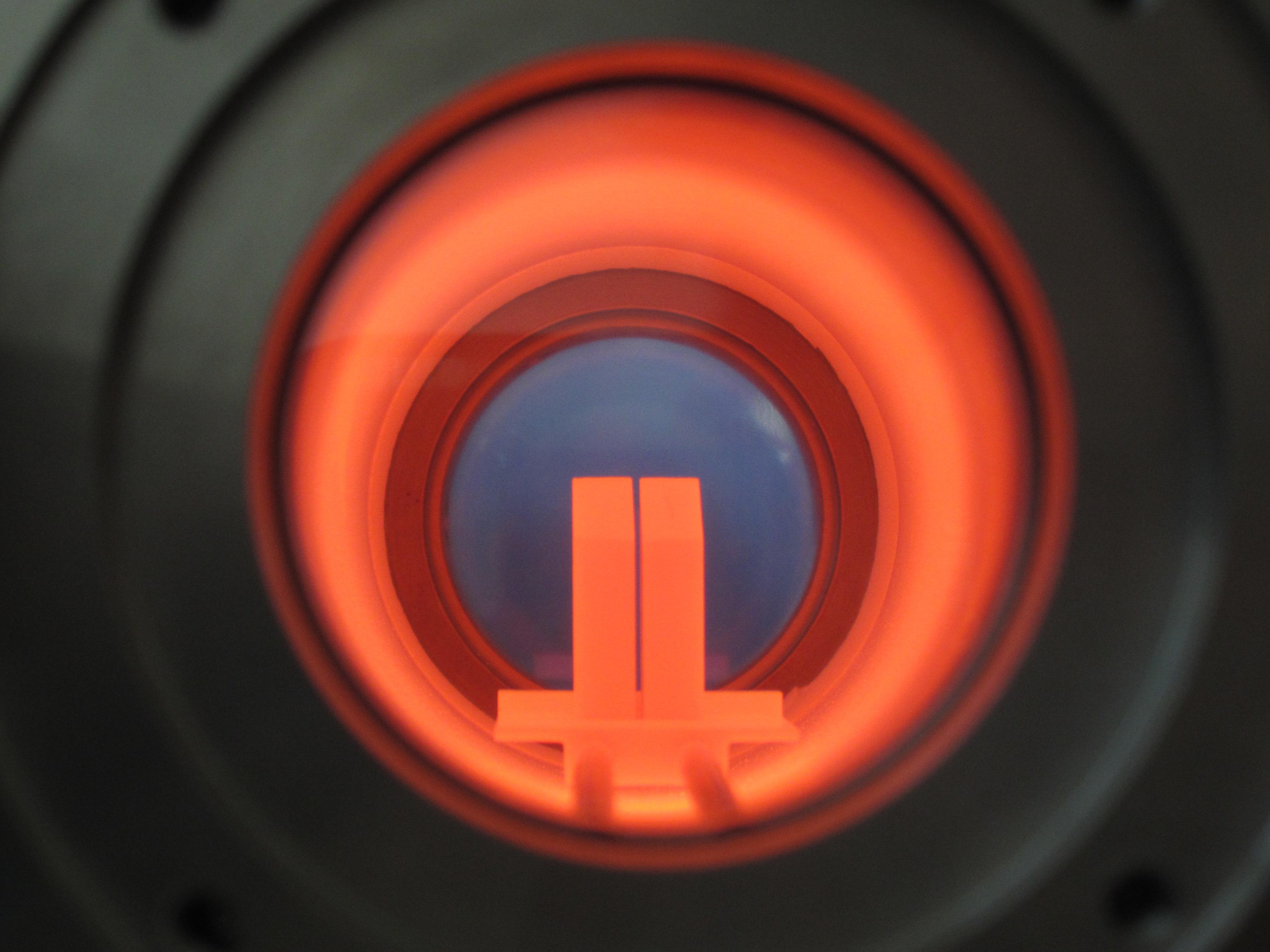 Optisches Dilatometer Probenbeobachtung
