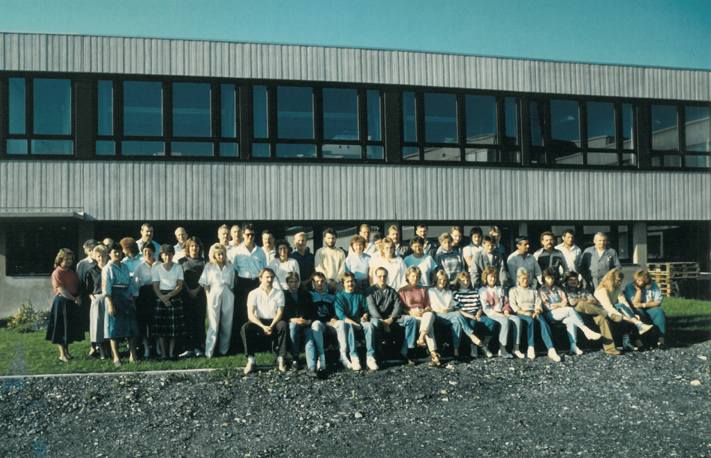 Linseis staff 30 years ago