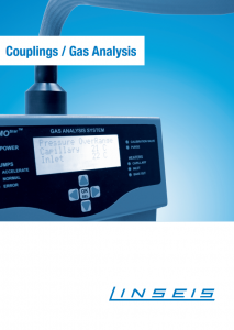 Linseis Produktbroschüre Couplings Gas Analysis