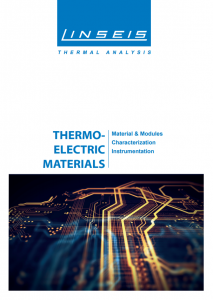 Thermal Electric Materials (PDF)