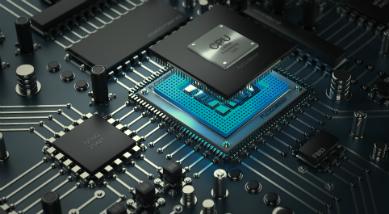Dünnschichttechnik Chip