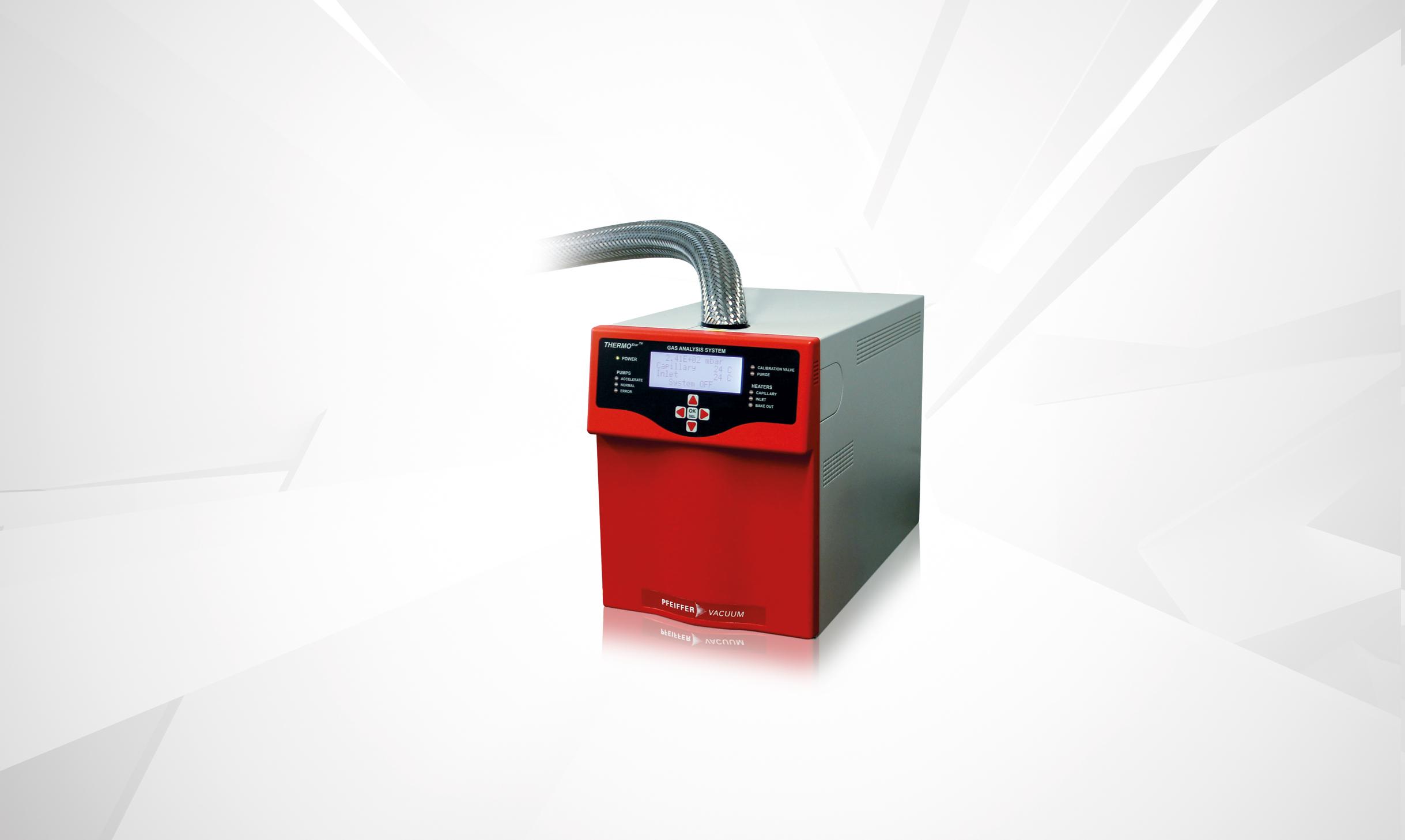 EGA MS - evolved gas analysis - thermal analysis