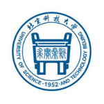 Logo of the University of Science & Technology Beijing, USTB - Linseis Customer