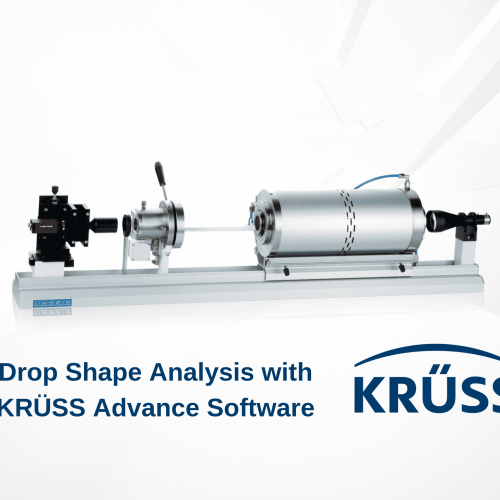 Collaboration between KRÜSS and LINSEIS for high-temperature contact angles