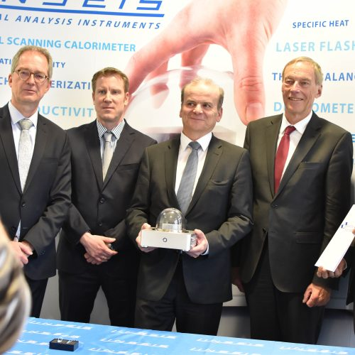 Free State of Bavaria supports chip-technology of Linseis and the University of Bayreuth