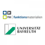 Logo Uni Bayreuth und Funktionsmaterialien