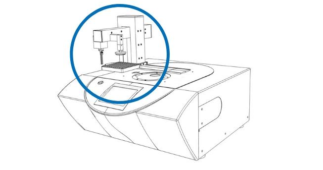 Chip-DSC 100 - Sample robot