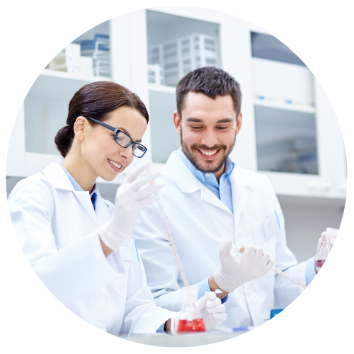 Linseis Laboratory staff