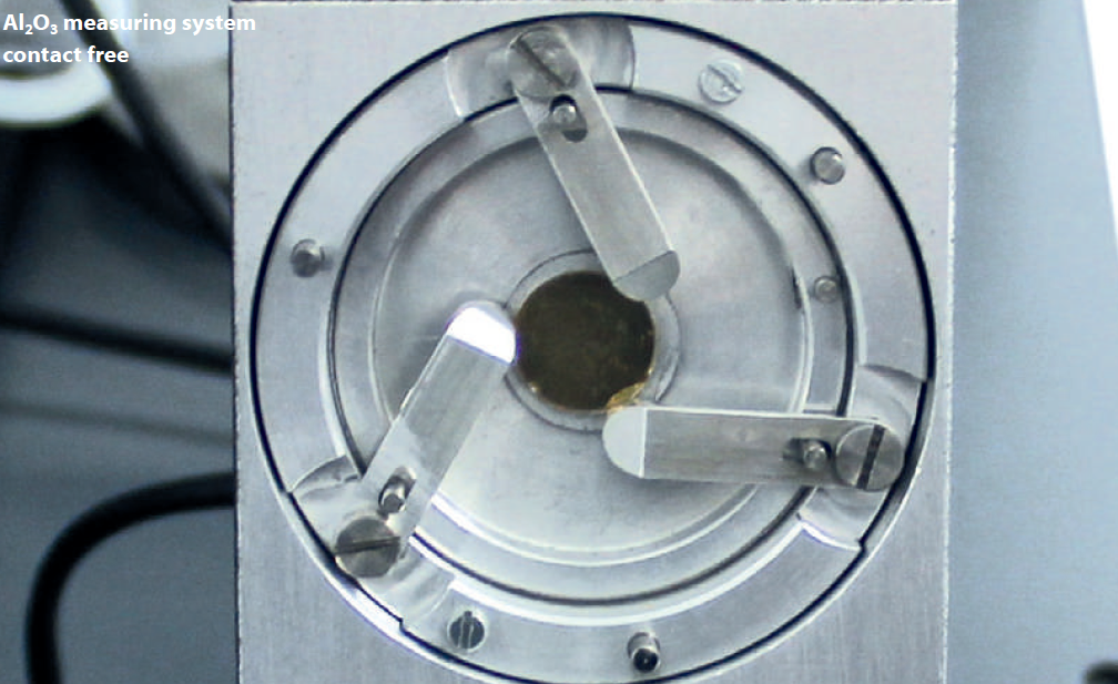 TF-LFA contact free measuring system