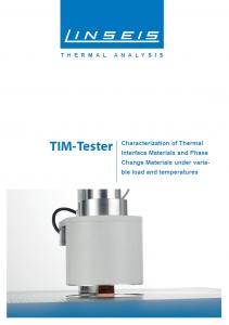 TIM Tester brochure