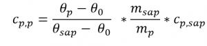 Formel für Cp