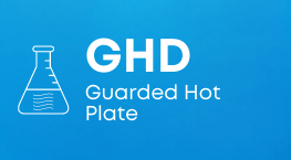 GHD guarded hot plate