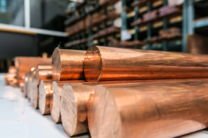 Copper in warehouse