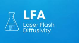 LFA Laser Flash Diffusivity