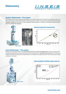 Laborposter des Linseis DIL Q Laser
