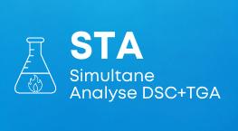 STA Simultane Analyse DSC + TGA