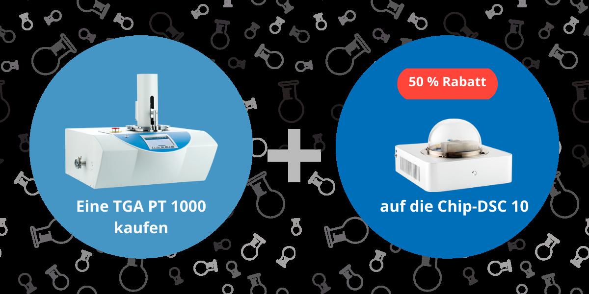 TGA 1000 und Chip-DSC 10