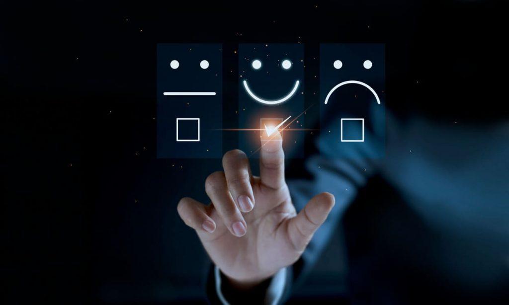 Vier Sterne Bewertung Kundenservice