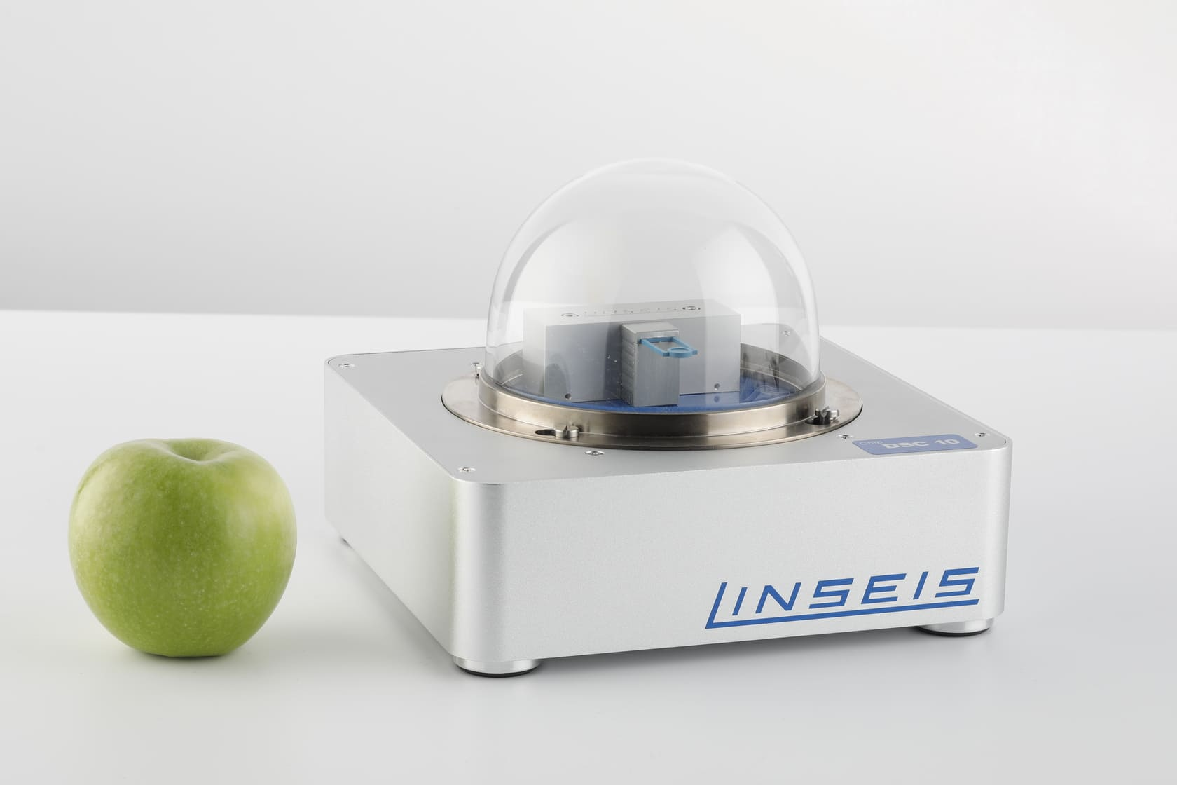 Linseis Chip-DSC and apple