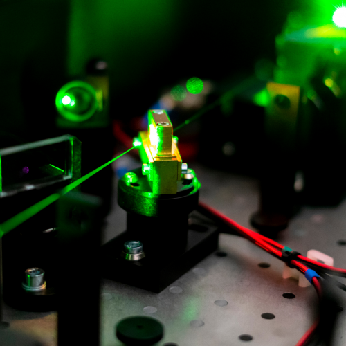 Determination of conversion temperatures of steel samples with the help of laser speckles